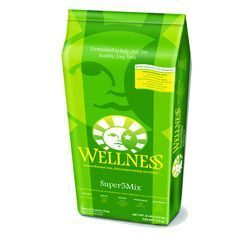 Wellness Super 5 Mix Lamb Dog Food 15 lbs.