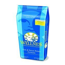 Wellness Fish & Sweet  Potato Dog Food 6 lbs.