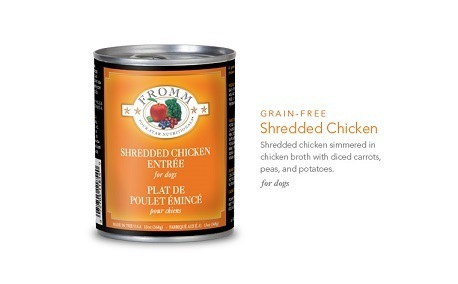 FROMM SHREDDED CHICKEN ENTREE 13OZ