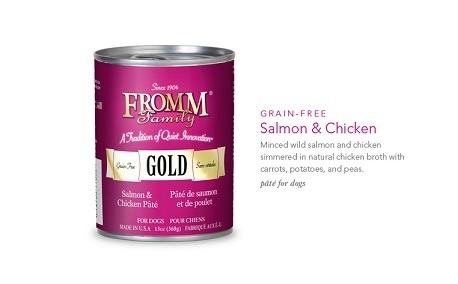 FROMM SALMON & CHICKEN PATE 13OZ