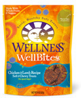 WELLNESS WELLBITES CHICKEN AND LAMB RECIPE 8OZ