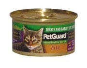 PetGuard Lite Turkey & Barley Dinner 3OZ