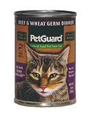 PetGuard Beef & Wheat Germ Dinner 14OZ