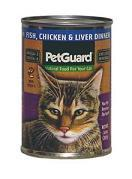 PetGuard Fish&#44 Chicken & Liver Dinner 14OZ